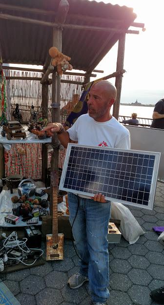 Joe explains the value of the solar cell