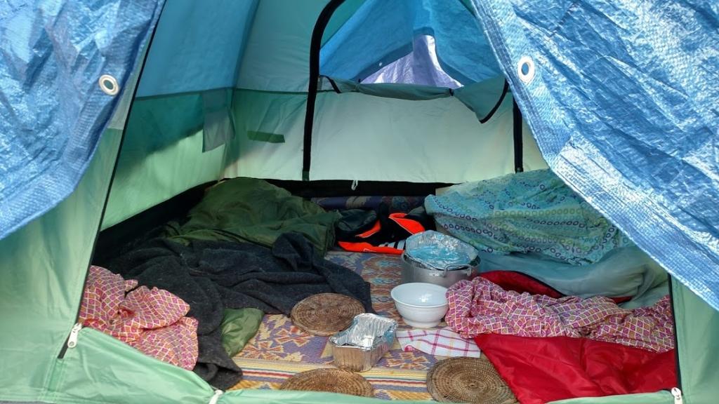 Refugee Tent in France
