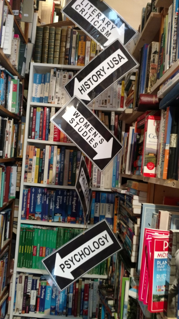 Book Categories at the Abbey