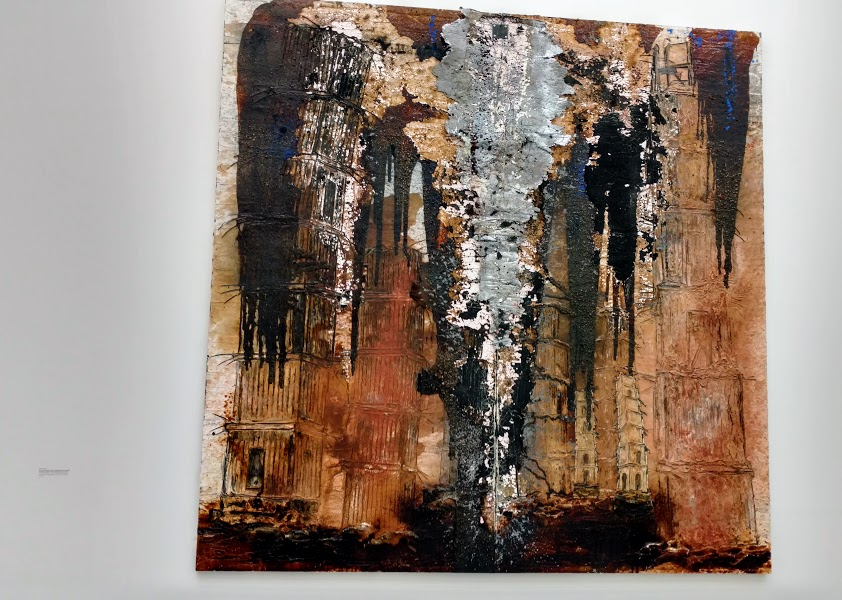 Les Cathedrales de France by Anselm Keifer