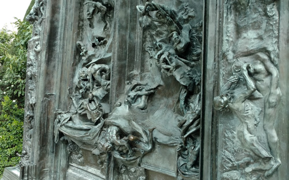 Gates of Hell close up