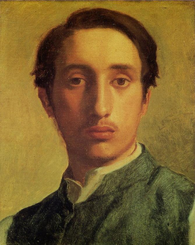 Young Edgar Degas