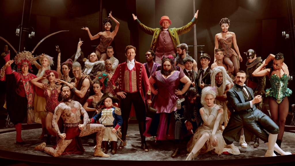 The Cast of The Greatest Showman courtesy of TGS Official Website