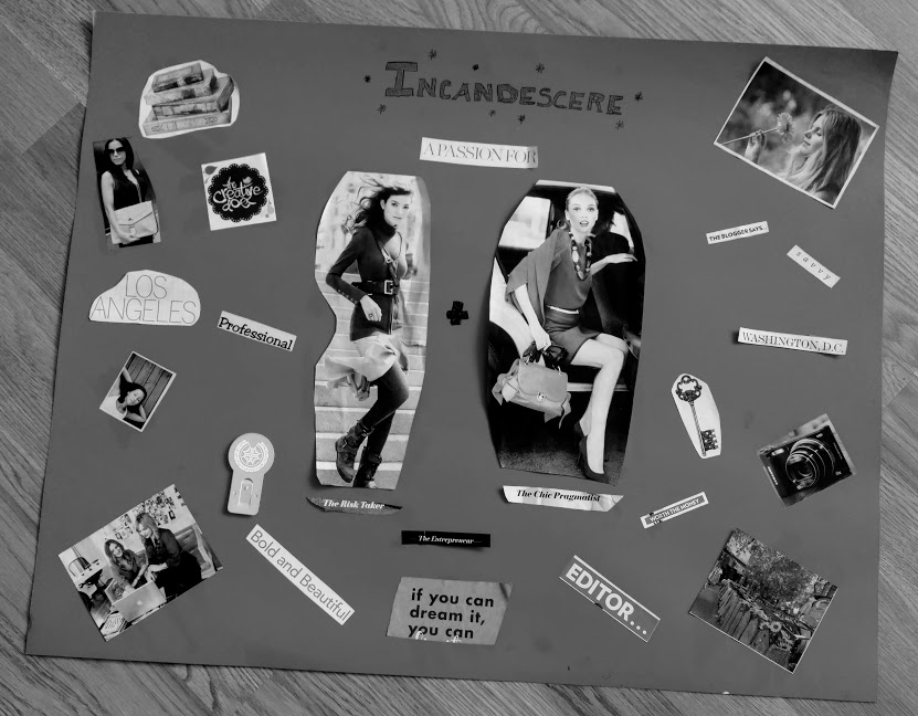 Old Mood Vision Board by Candace Nicholson
