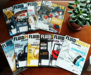 FPJ magazines representing my role as an Editor