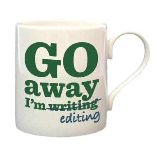 Editor mug for the 2018 Vision Board