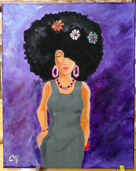 Me in 10 Years painting by Candace Nicholson
