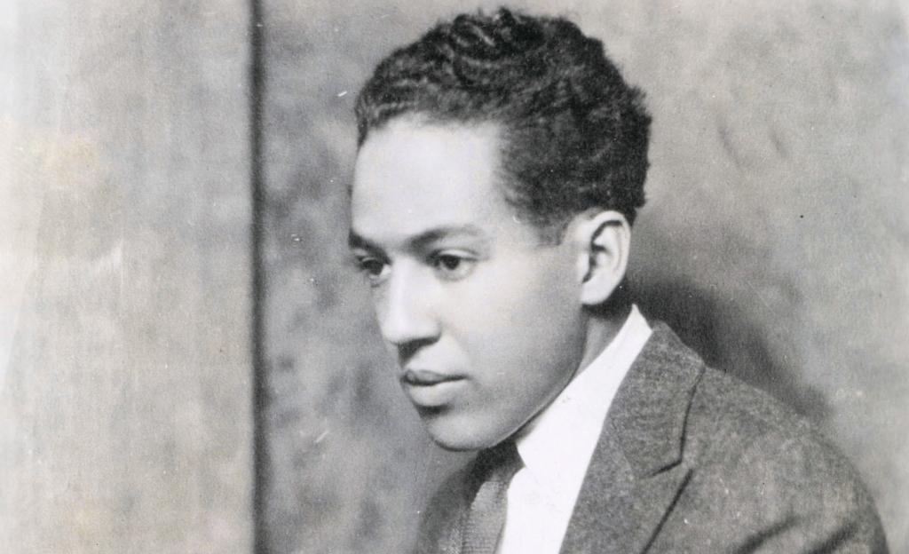 Langston Hughes photo by Nickolas Muray