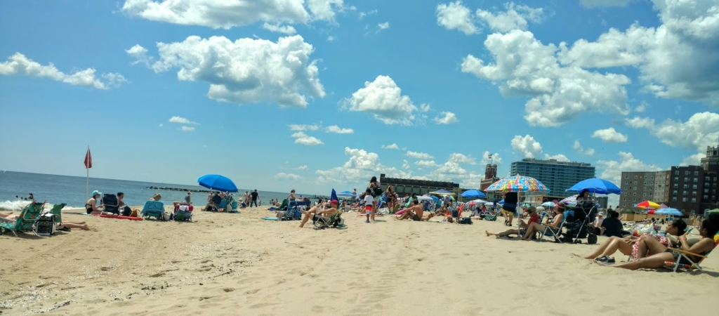 Asbury Park Beach on Saturday