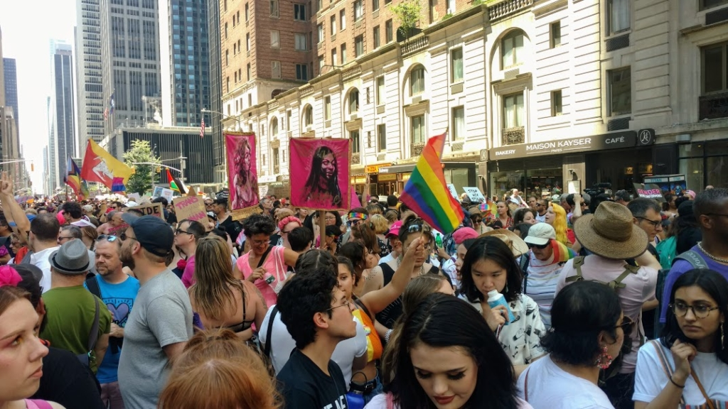 Queer Liberation March up 6th Ave