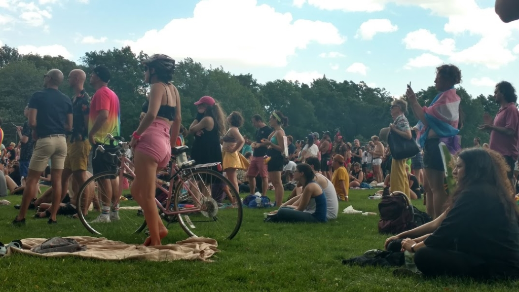 Queer Liberation Rally in Central Park