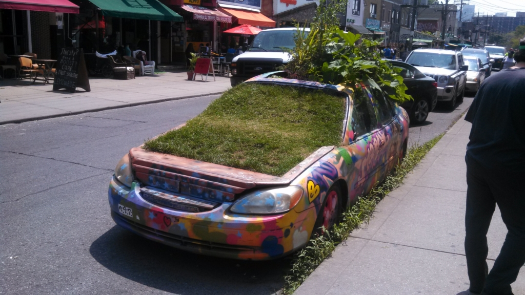The Greenest Car in TO