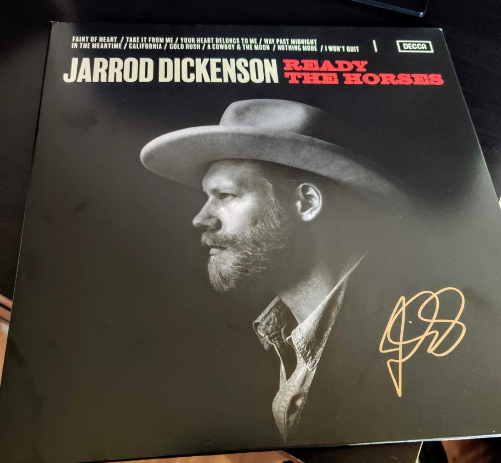 Ready the Horses vinyl record by Jarrod Dickenson