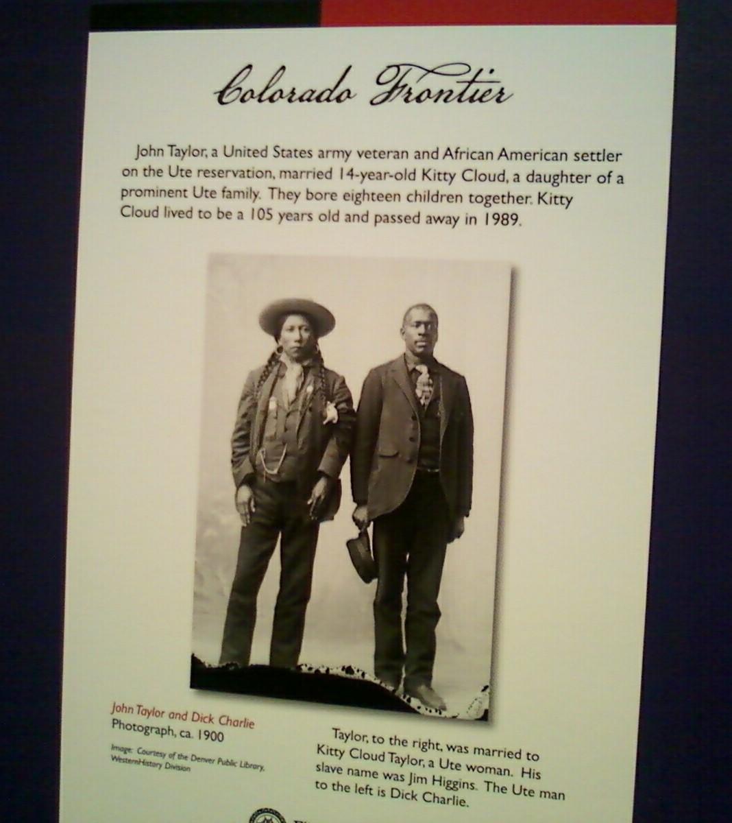 Colorado Frontier placard
