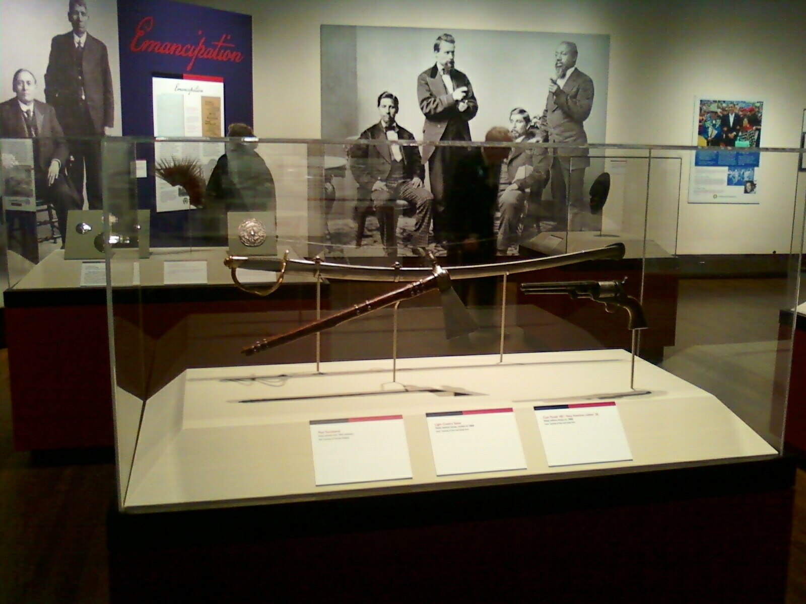 Weapons of the Red and Black exhibit