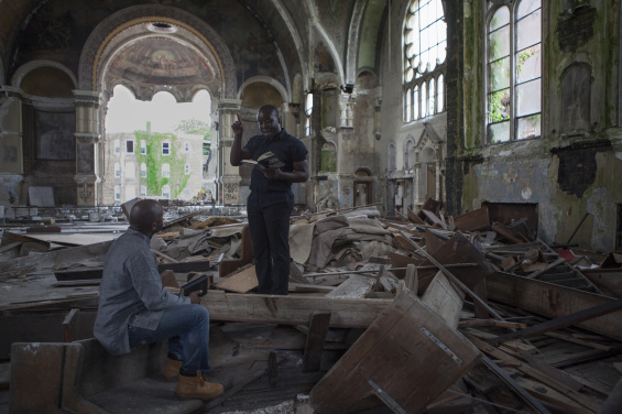 Gone Are The Days of Shelter and Martry by Theaster Gates