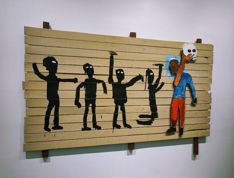 Procession by Jean-Michel Basquiat