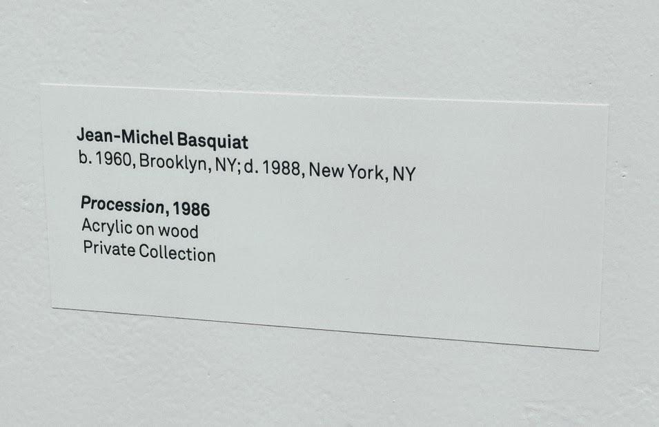 Basquiat tag