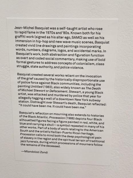 Artist Statement for Jean-Michel Basquiat