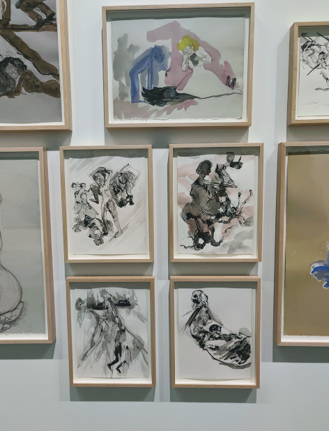 Another section of the Kara Walker collection at Grief and Grievance
