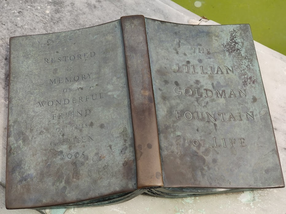 Lillian Goldman Fountain dedication