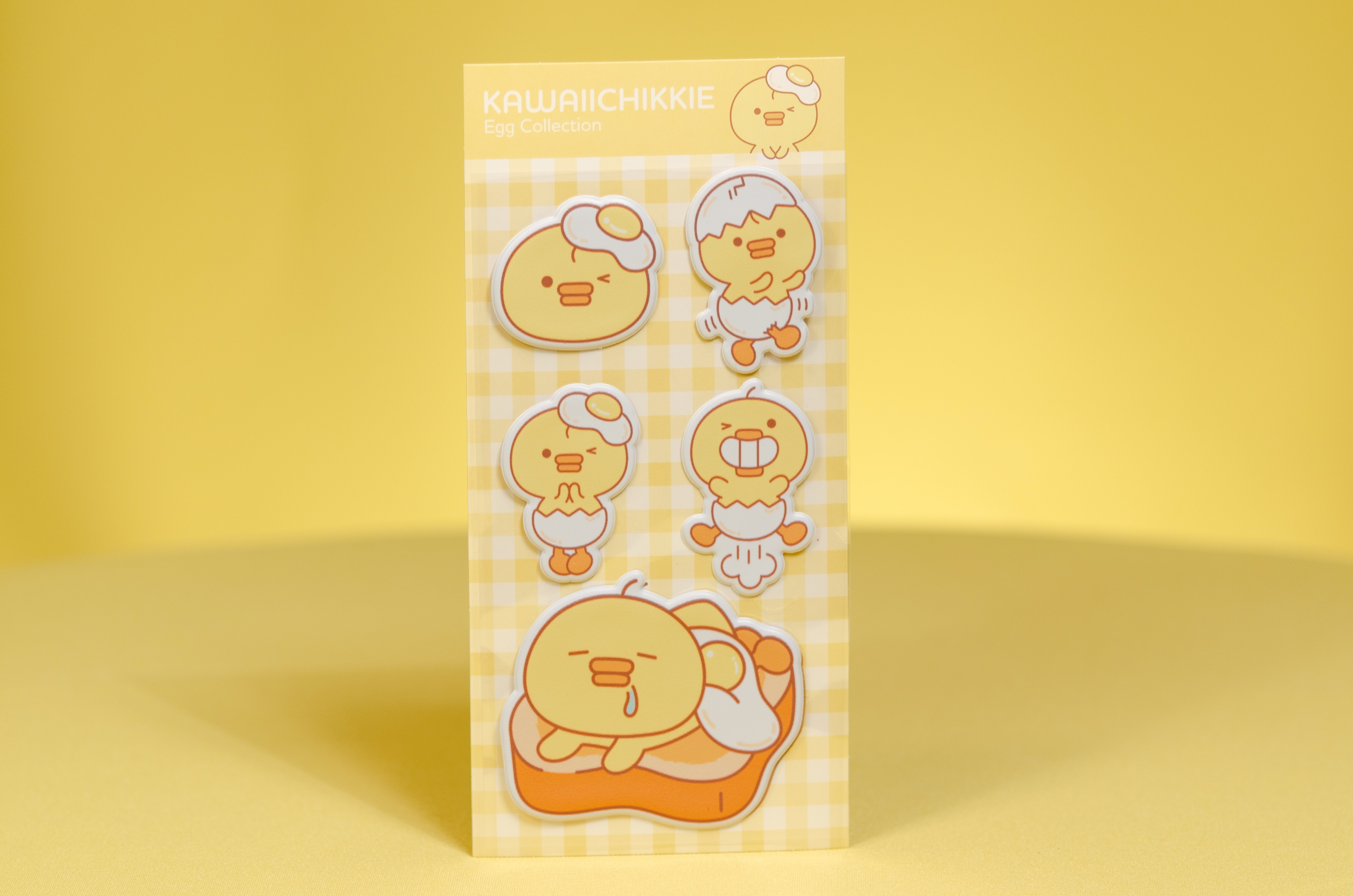 Sunny Side Up Puffy Stickers