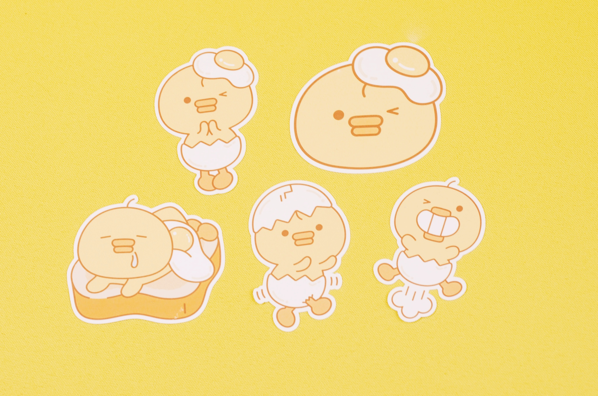 Sunny Side Up Stickers