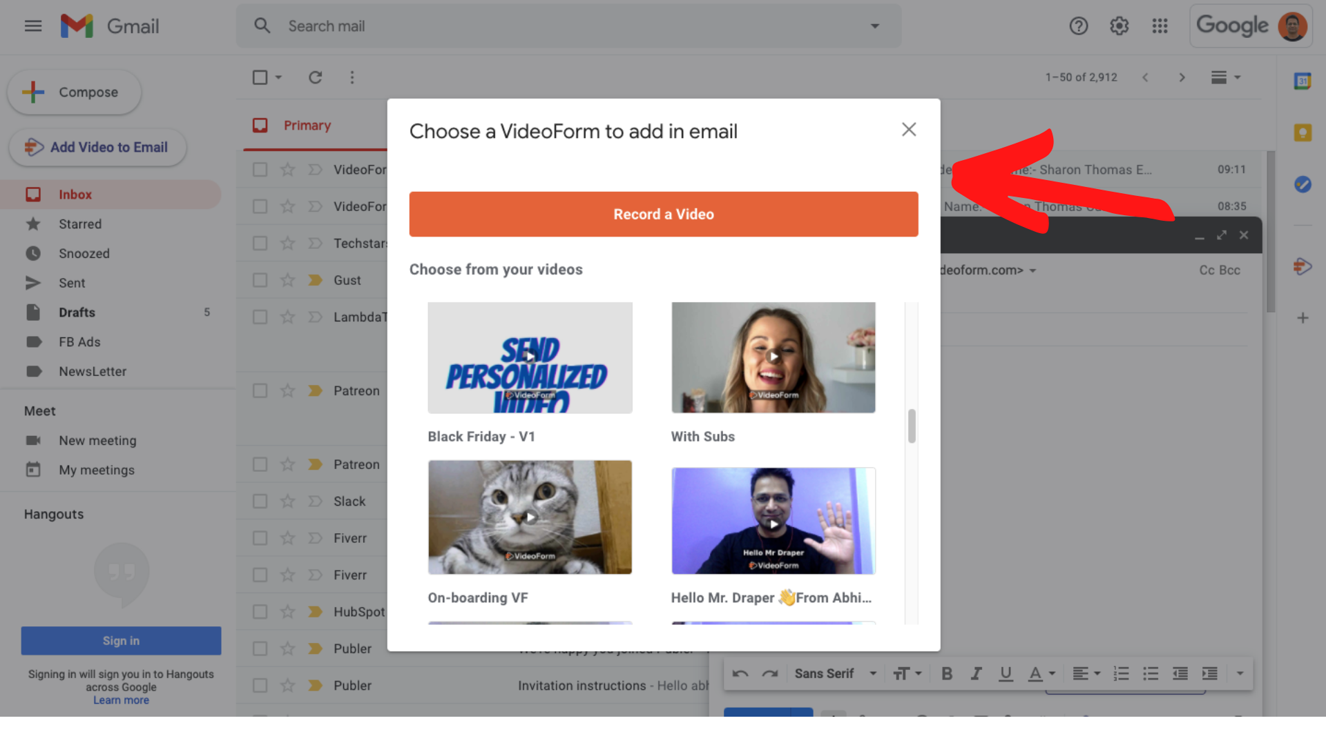 How to Embed Video in Gmail?
