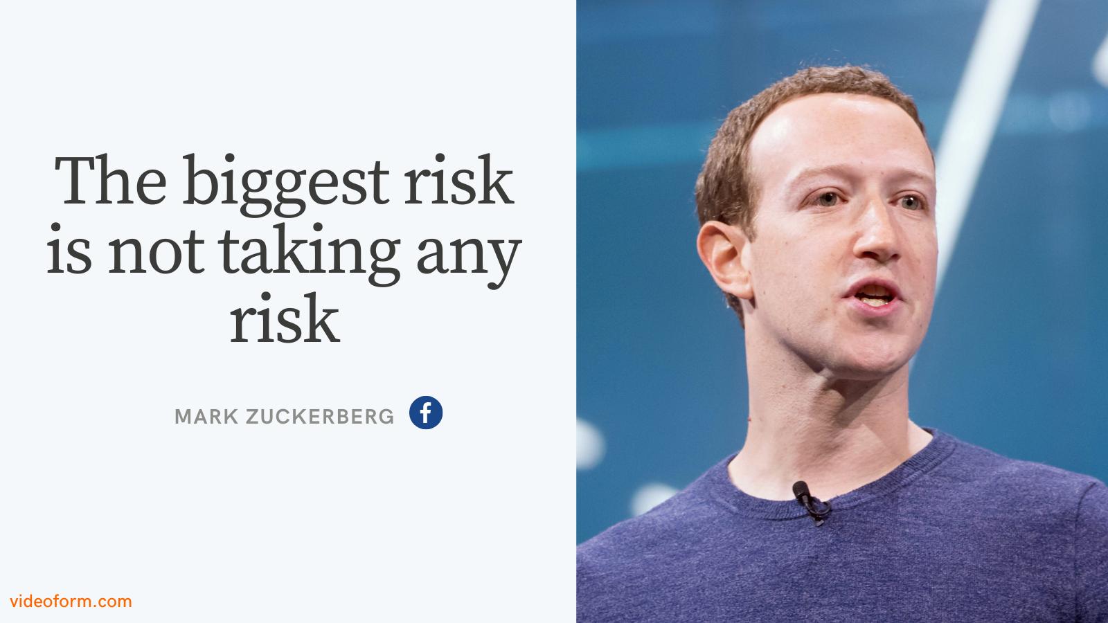 Mark Zuckerberg Entrepreneurship Quote