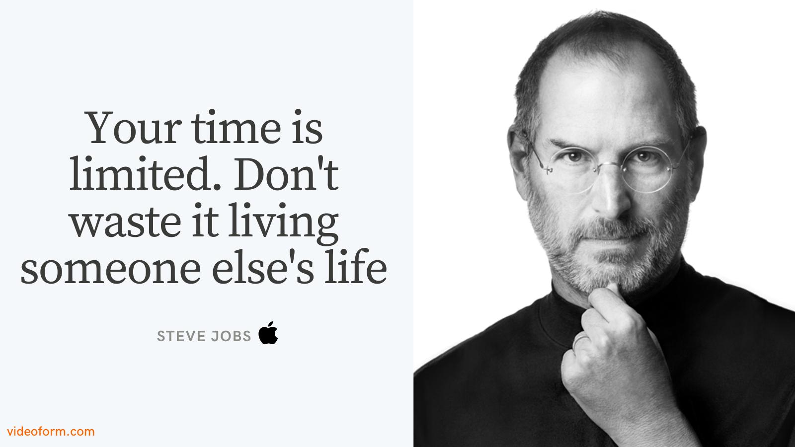 Steve Jobs Motivation Quote