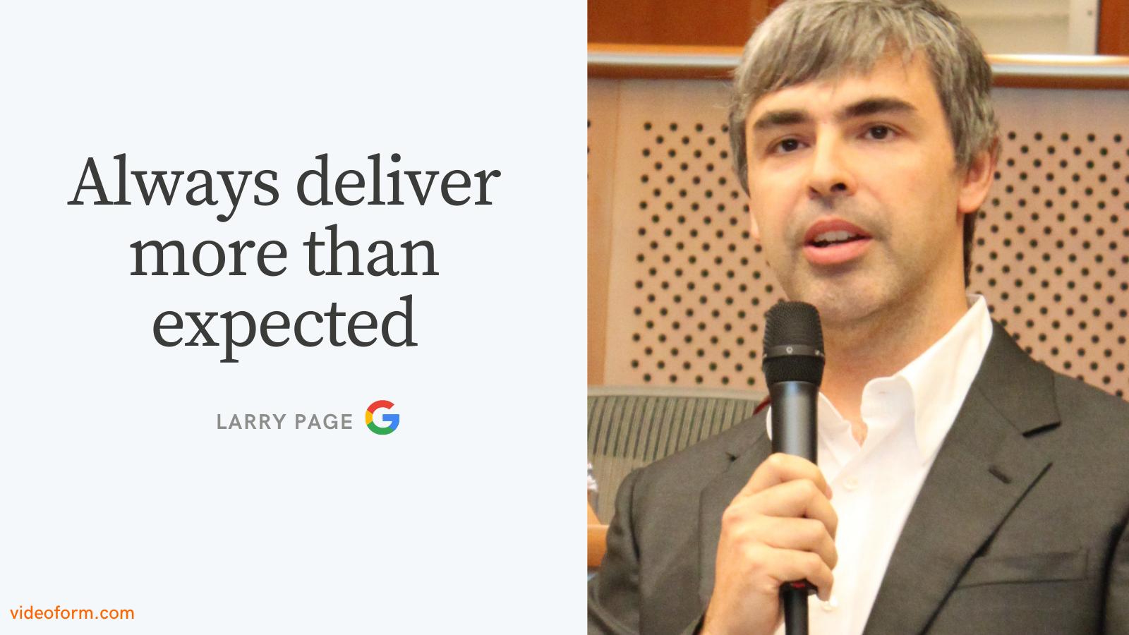 Larry page motivation quote