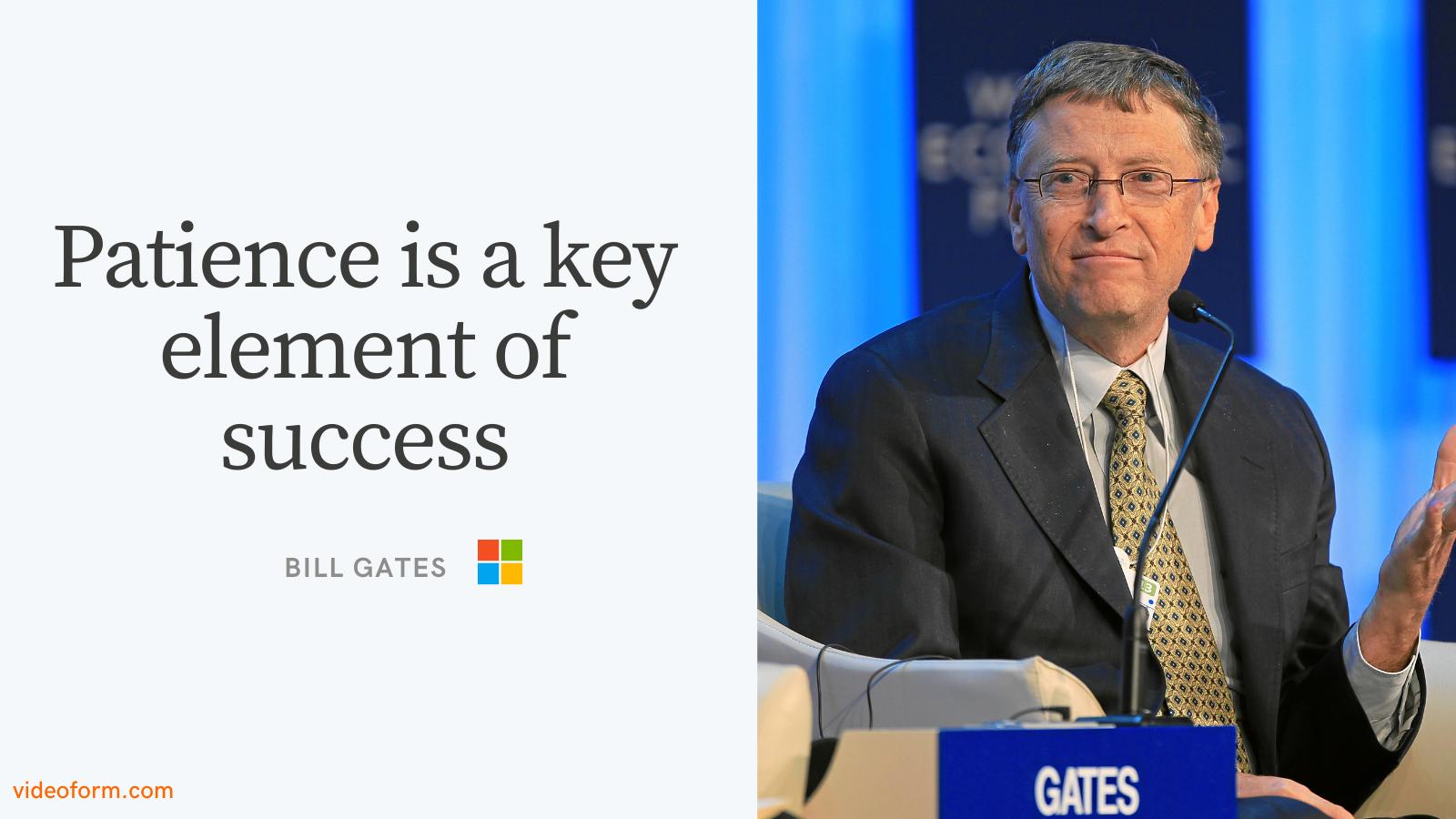 Bill Gates Entrepreneurship Quote