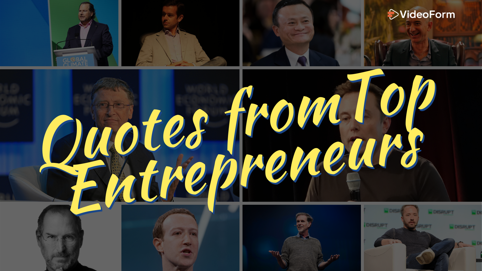 11 Entrepreneur Quotes by Famous Tech Founders to Spark Motivation