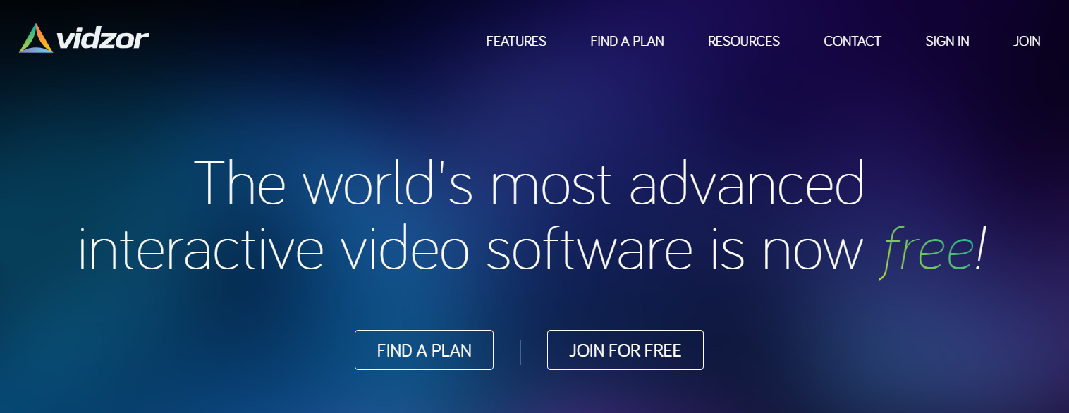 vidzor-interactive-video-creation-platform