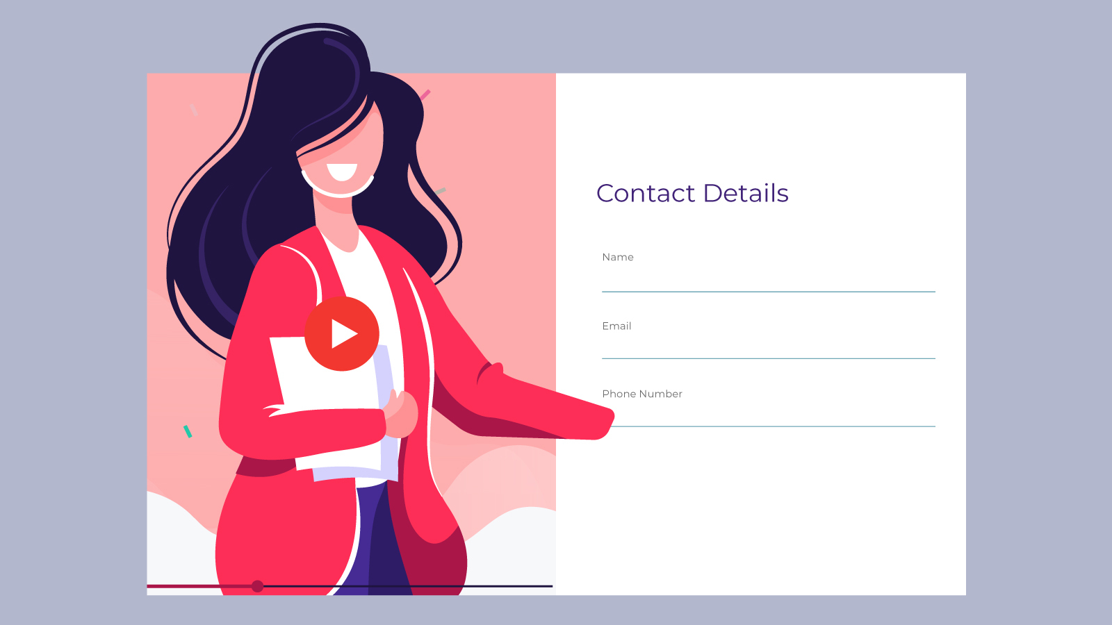 6 Reasons To Use Video Content In Contact Forms