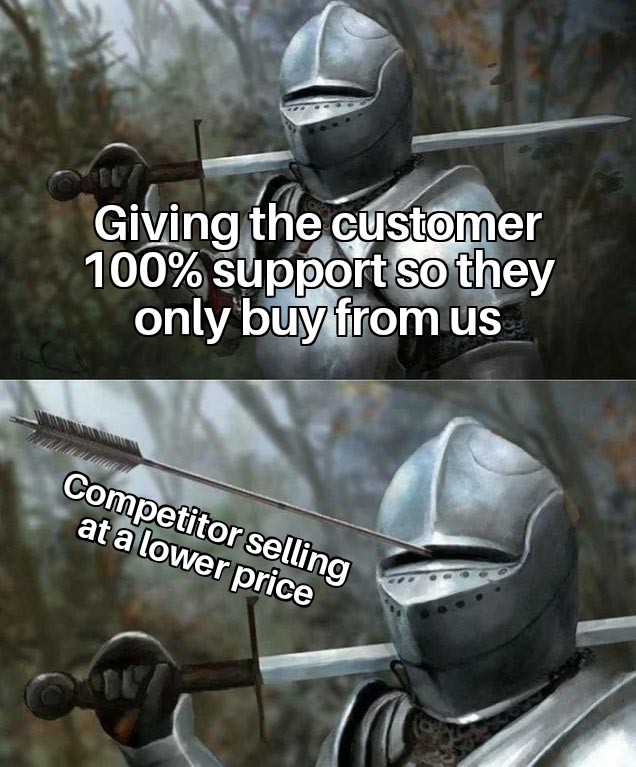 funny sales meme