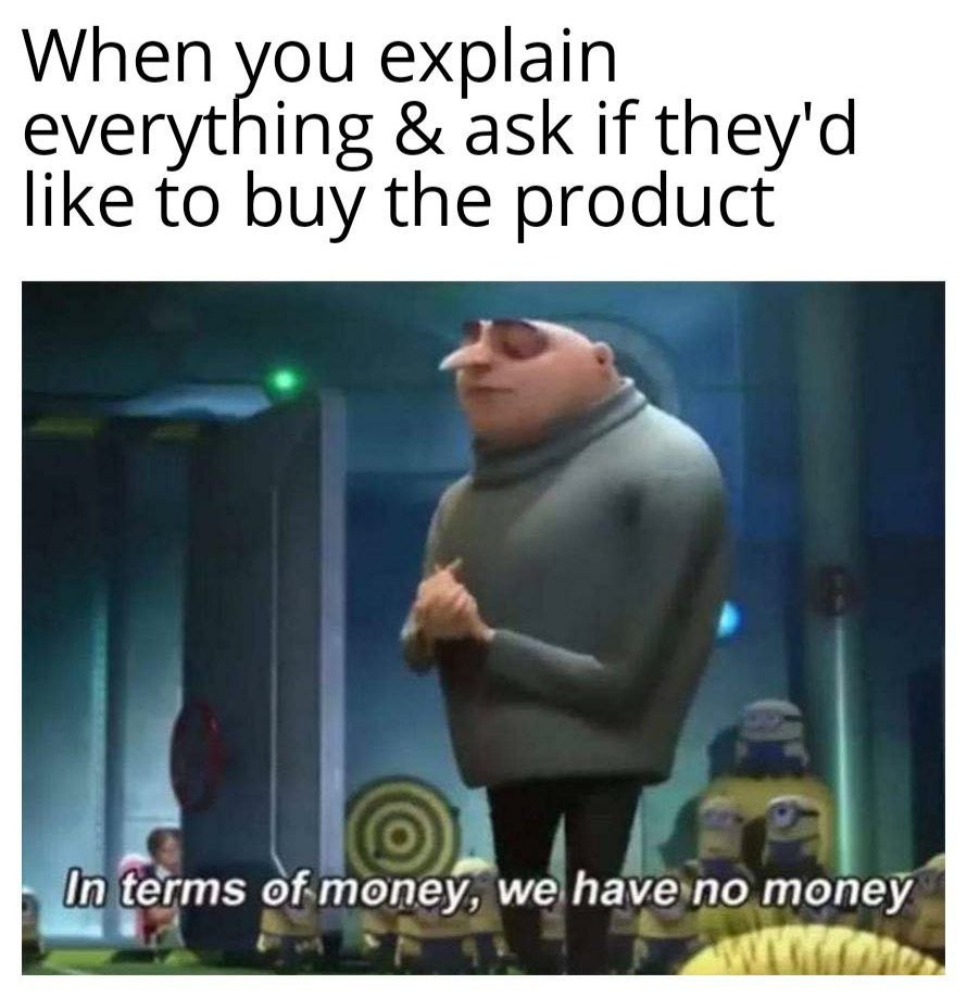 sales budgets memes