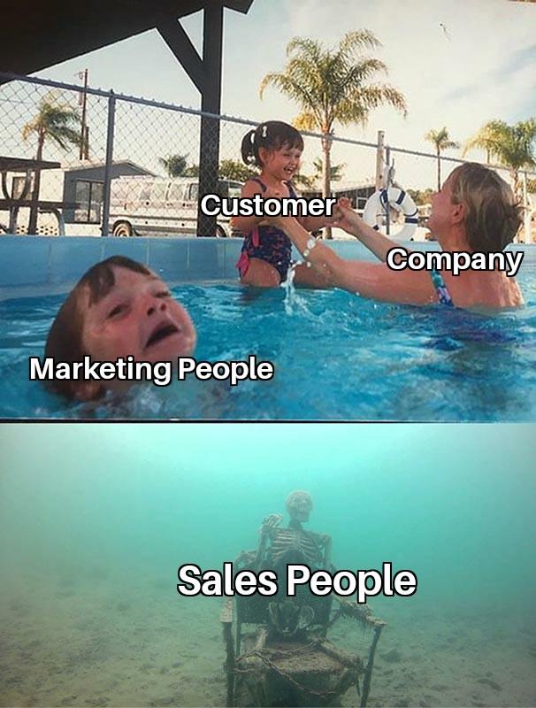 salesperson memes