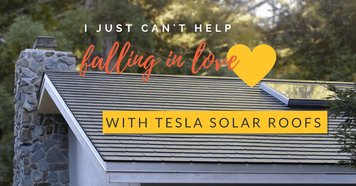 I just can't help falling in love (with Tesla solar roofs)