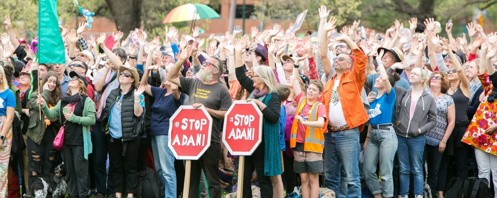 If you're already taking action, have a conservation to stop Adani