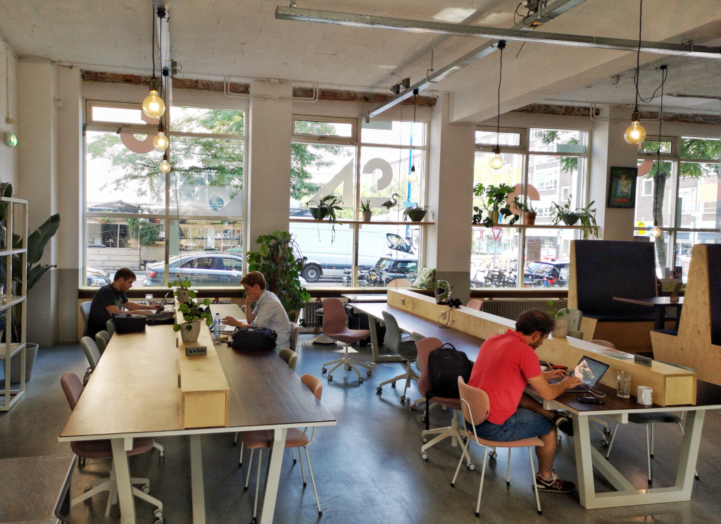 co-working spaces rotterdam