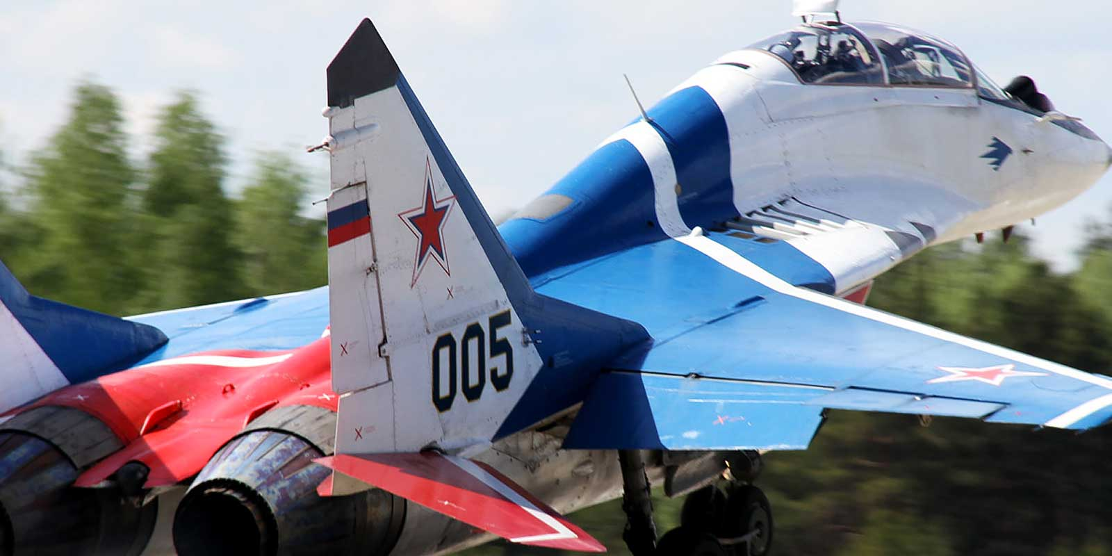 Fly a MiG-29 Fighter Jet