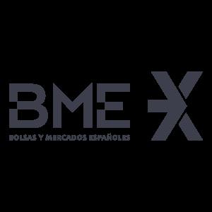 Logo de BME (Bolsas y Mercados Españoles)