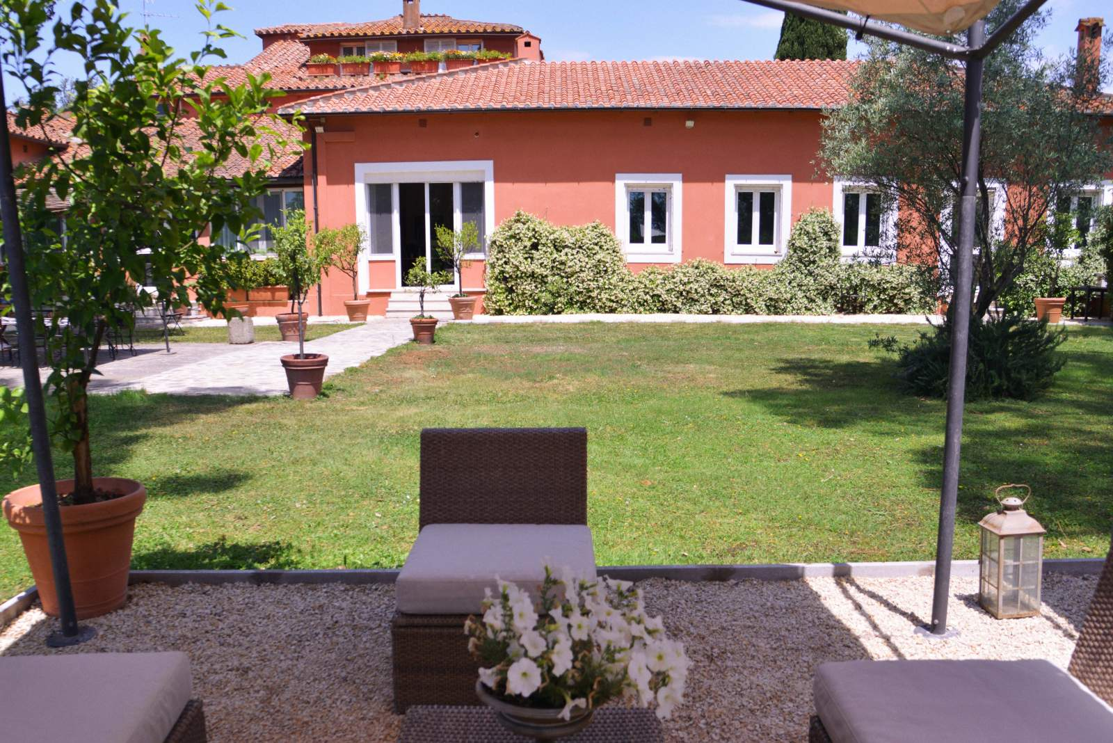 riunioni in giardino uffici roma
