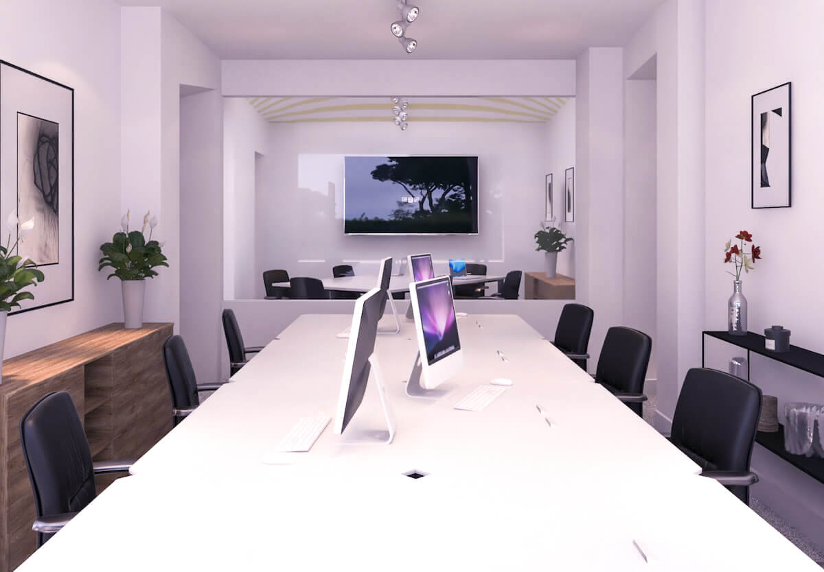 ufficio arredato roma