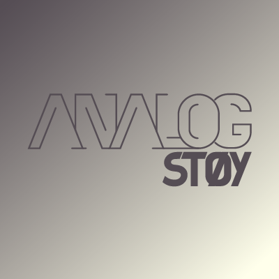 analogstøy stacked logo
