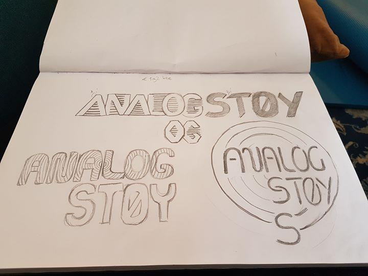 analogstøy logo scetch