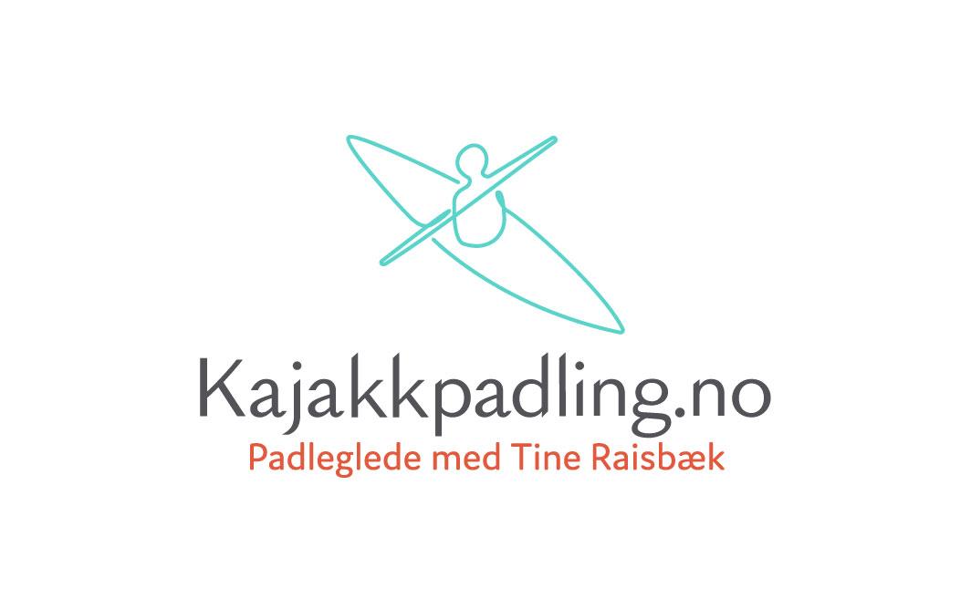 Kajakkpadling.no finished logo stacked version