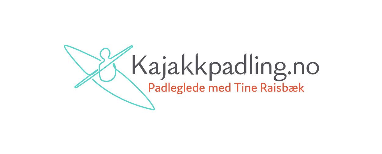 Kajakkpadling.no finished logo long version
