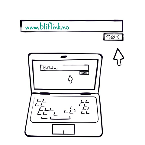Illustration of a computer